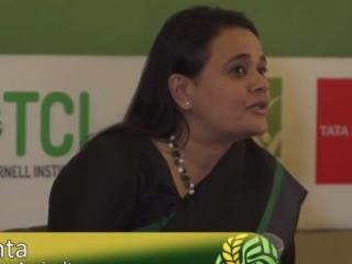 The Gates Foundation approach to agriculture-nutrition linkages - Dr. Purvi Mehta