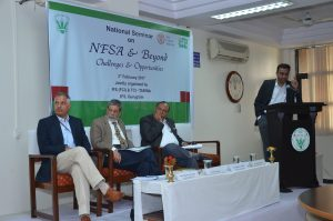 Seminar on India's National Food Security Act - February 3, 2017