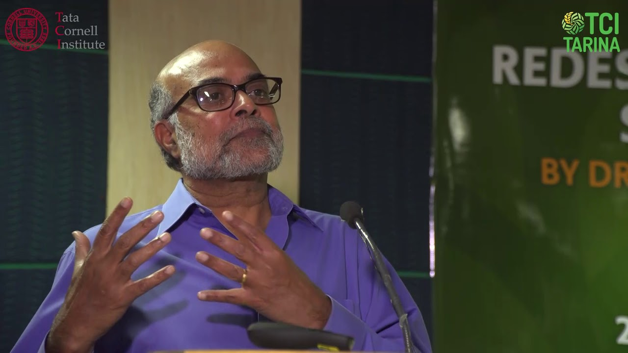 Redesigning food policy for nutrition security - Dr. Prabhu Pingali